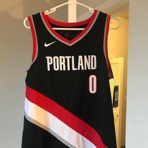 Brand new Damian Lillard Nike connected jersey
